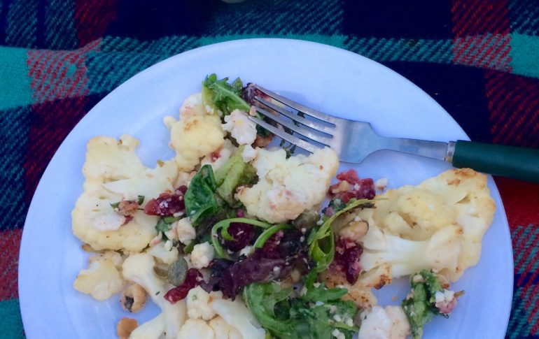 Seared Cauliflower Salad