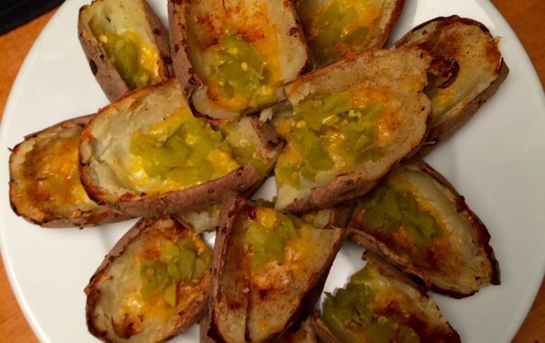 Tex-Mex Crispy Potato Skins