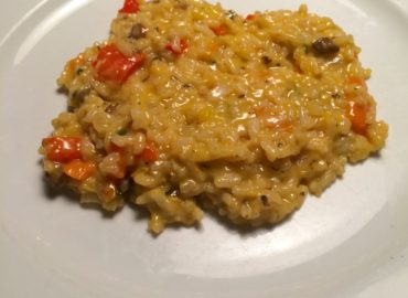 White Wine Vegetable Risotto