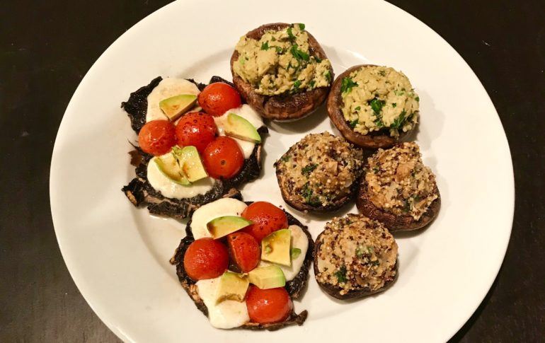 Mushroom Three Ways