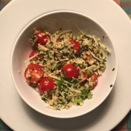 Healthy Cauliflower Tabbouleh